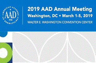 Success at 2019 AAD Annual Meeting – March 1 to March 5, 2019