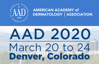 Mark your Calendars for AAD! March 20 to 24, 2020 in Denver, CO